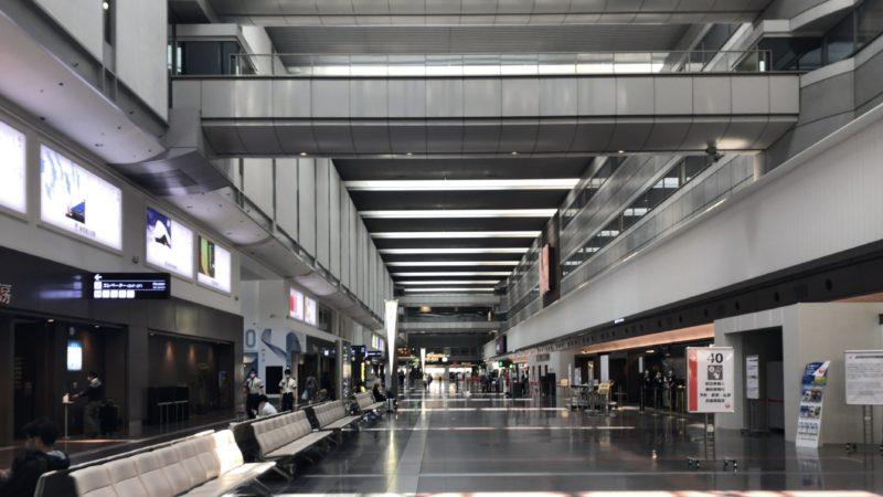 新型コロナウイルス影響下の羽田空港。ウイルスは経済も殺す。2020年4月29日ゴールデンウイークはステイホーム。